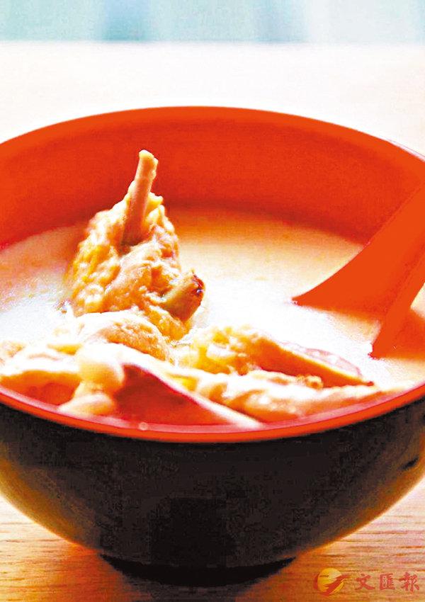 ■牛奶雞湯