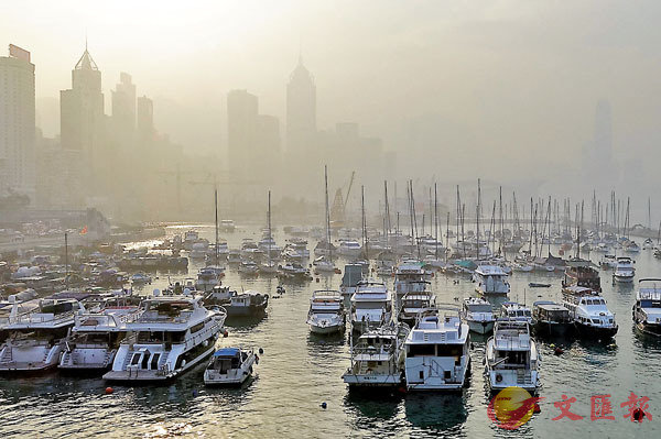 ■空氣質素新指標備受爭議。 資料圖片