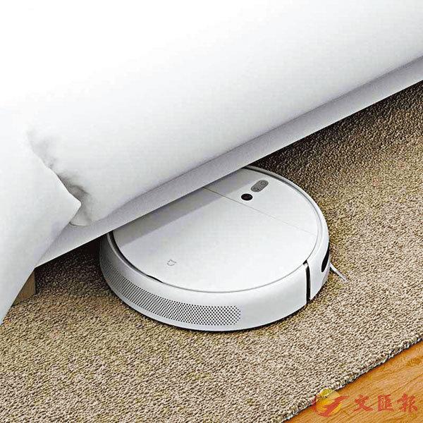 ■在大掃除上,有掃地機器人協助就舒服得多。