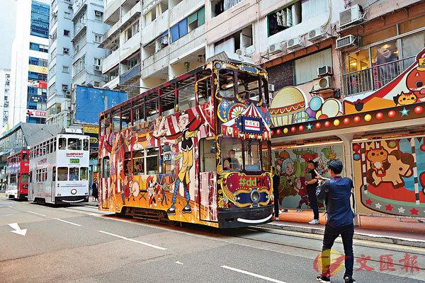 ■活動以極具本土特色的電車展示本地藝術家的作品。