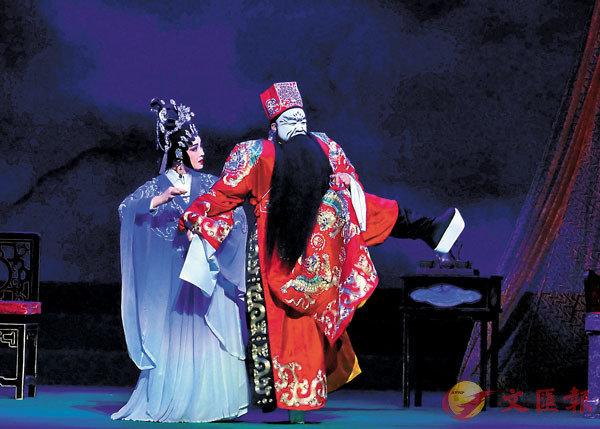 ■羅貫中這一寫,曹操從此與小喬拉上關係,直到現今的粵劇中兩人還一起登場。資料圖片