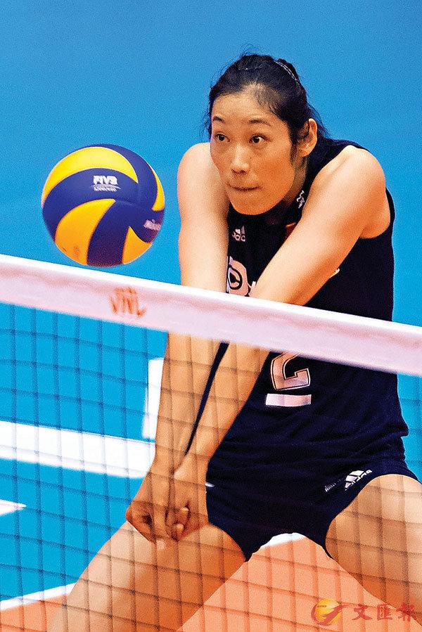 ■朱婷將在東京奧運繼續發揮領軍作用。資料圖片