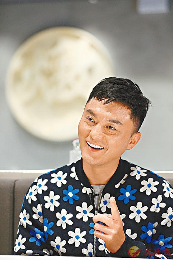 ■楊明慶幸自己有機會在劇中體驗警察的各個部門。
