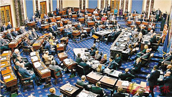 ■ 共和黨否決民主黨就彈劾聆訊規程提出的多項修正案。 美聯社