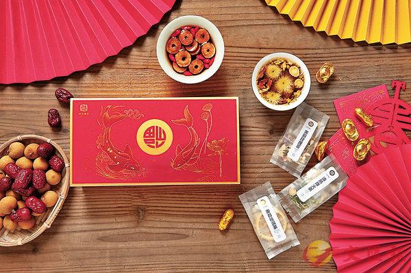 ■花開富貴養生茶零食禮盒