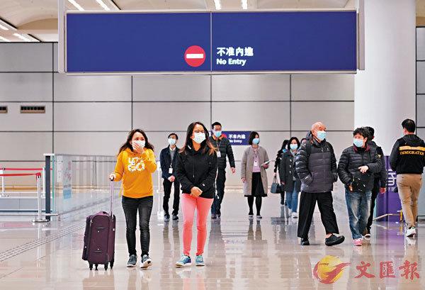 ■ 政府擴大封關措施見效。圖為在港珠澳大橋香港口岸,入境人數大幅減少。 中新社