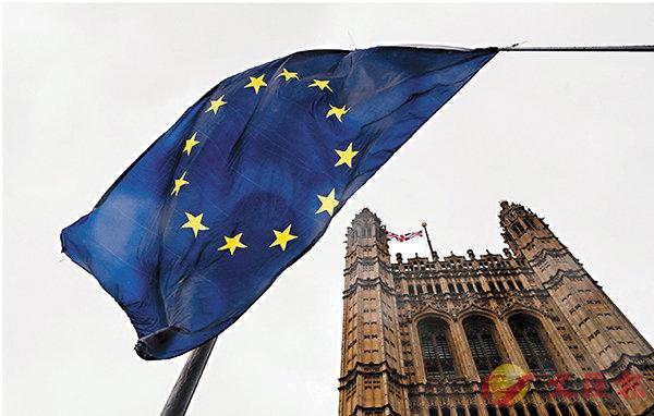 ■ 英國在上月底終於正式脫離歐盟,進入過渡期。 資料圖片