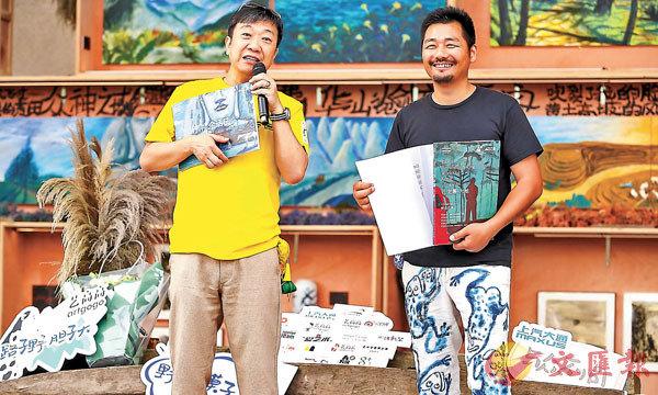 ■artgogo和上汽.上海文化廣場聯合主辦的「孔龍震 大地」2019上海個展,展覽延續了藝高高藝術IP「萬人展」之「無圍牆、免門票」的展覽理念。