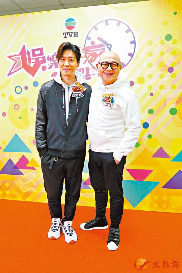 ■ 黎諾懿(左)和林盛斌皆表示健康最要緊。