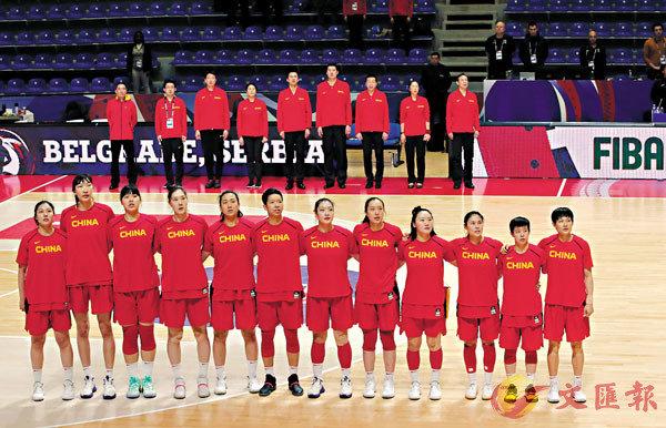 ■ 中國女籃三連勝奪東奧入場券。新華社