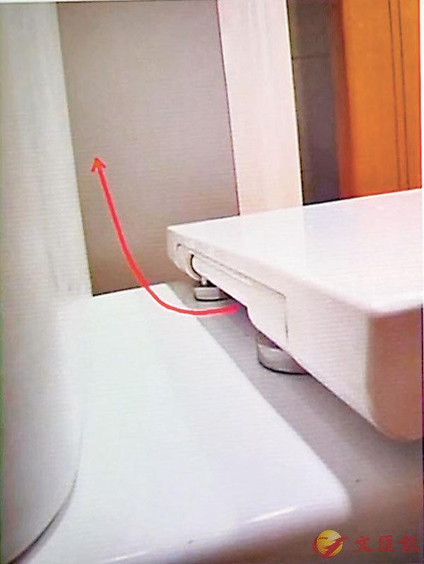 ■由於廁板和廁缸之間有數毫米的縫隙,就算蓋上廁板沖廁,過程中細菌仍會透過霧化過程離開廁缸及飄浮於空氣中,污染附近環境。 視頻截圖