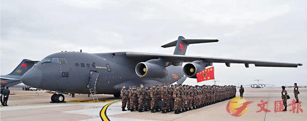 6架運-20載軍醫物資馳援武漢