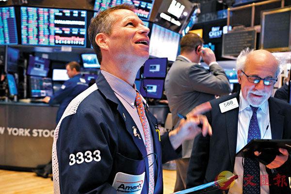 ■ 二月份以來,市場恐慌情緒回落,美股等風險資產價格回升,不少投資者更憧憬美聯儲會再次減息。 法新社