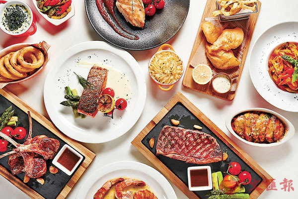 ■城市花園酒店全天供應的滋味套餐及精選單點菜式
