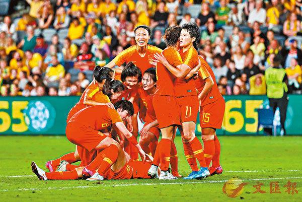 ■ 中國女足上周成功闖入奧預賽亞洲區4強。 新華社
