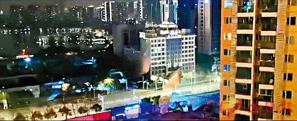 ■港人彭先生在武漢最後一夜,拍下靜寂無人的街景,感觸萬分。