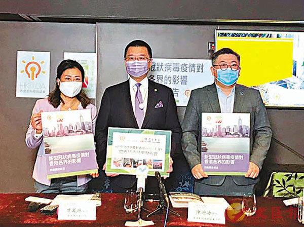 ■ 香港菁英會及香港創科發展協會一項調查顯示,疫情令近四成受訪公司被迫暫停全部或部分業務。