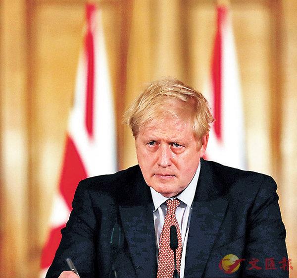 ■ 約翰遜將新冠肺炎疫情形容為英國「當代最嚴峻公共衛生危機」。 路透社