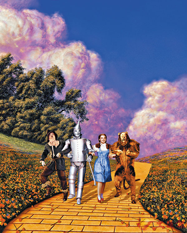 ■桃樂絲和三位朋友展開冒險之旅。