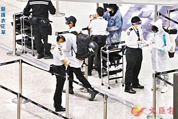 機場醫護裝備單薄過旅客