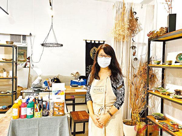■日籍店主稱生意不如想像。