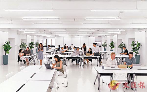 ■疫情過後,共享工作空間需求或增加。圖為現正招租的共享工作空間theDesk,每座位月租約2,550元起。