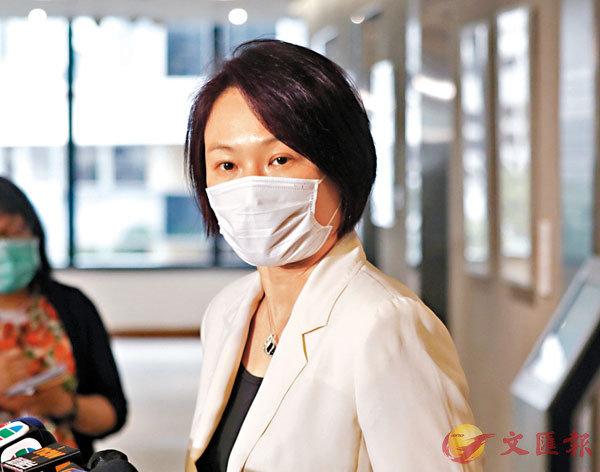 李慧�k表示,將擬定議程,希望追回過去超過半年流失的時間。香港文匯報記者  攝