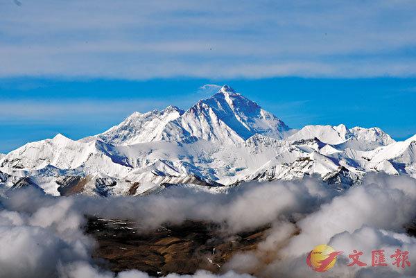 ■從加吾拉山口眺望珠穆朗瑪峰