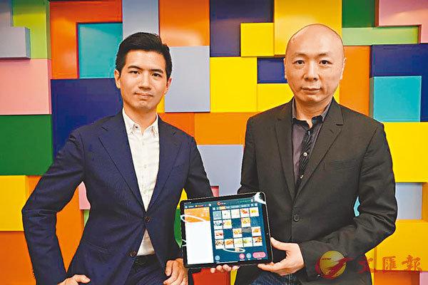 ■李維聰(右)表示,Eats365網上點餐平台對餐廳收費低廉,使其有更大盈利和減價空間。