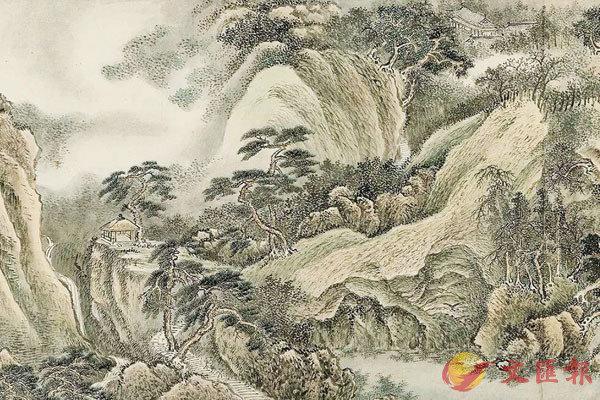 ■清 王翬《江山無盡圖》局部