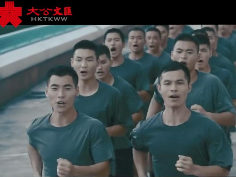 駐港部隊發搏擊訓練視頻 網民�G有你們在我們很放心