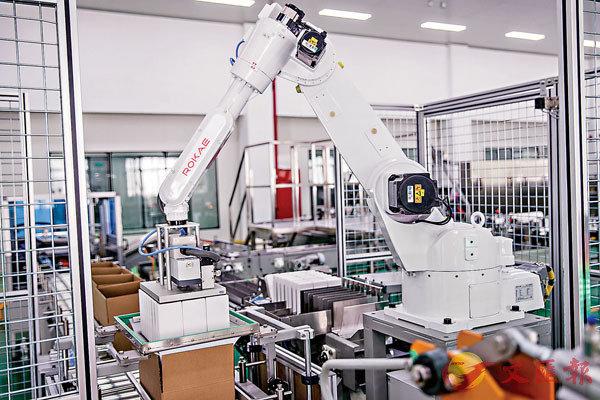 ■ 娃哈哈片劑生產車間。 香港文匯報浙江傳真