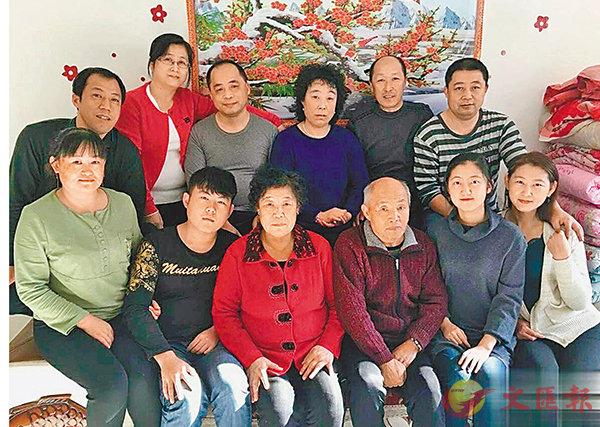 ■林家三代人的全家福。 受訪者供圖