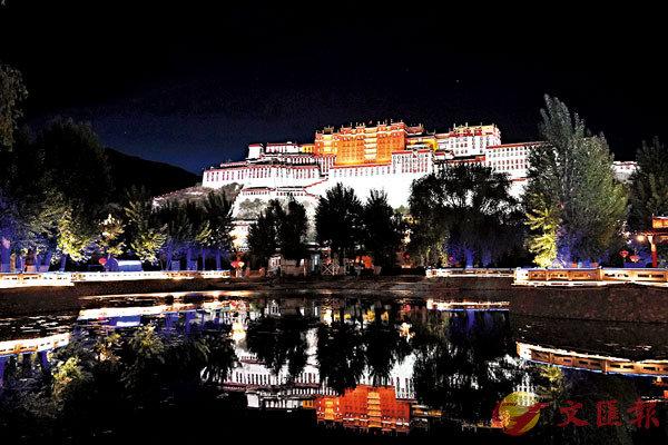 ■夜色中的布達拉宮