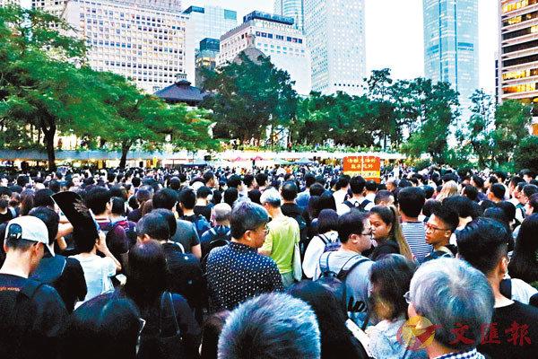 ■政府人員協會批評公務員罷工嚴重違反守則。圖為去年8月的公務員集會。 資料圖片