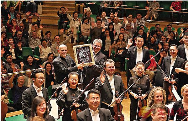 ■梵志登與香港管弦樂團     攝影:卓欣/港樂