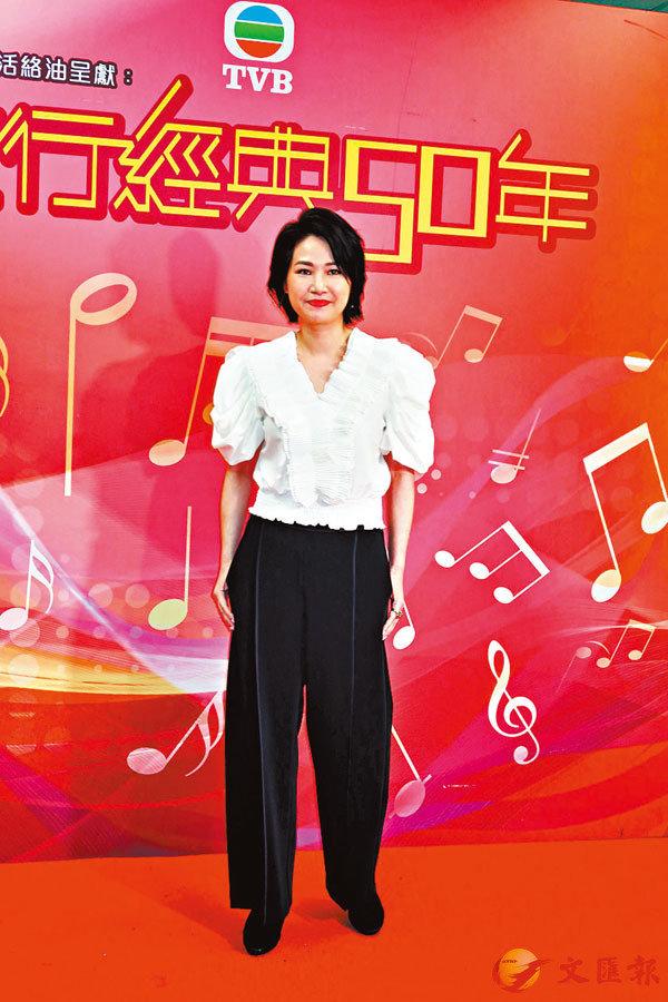 ■陳梅馨現時做飲食生意,開設上海菜餐廳。