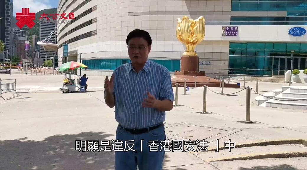 前立法會議員王國興:反對派初選屬違法行為