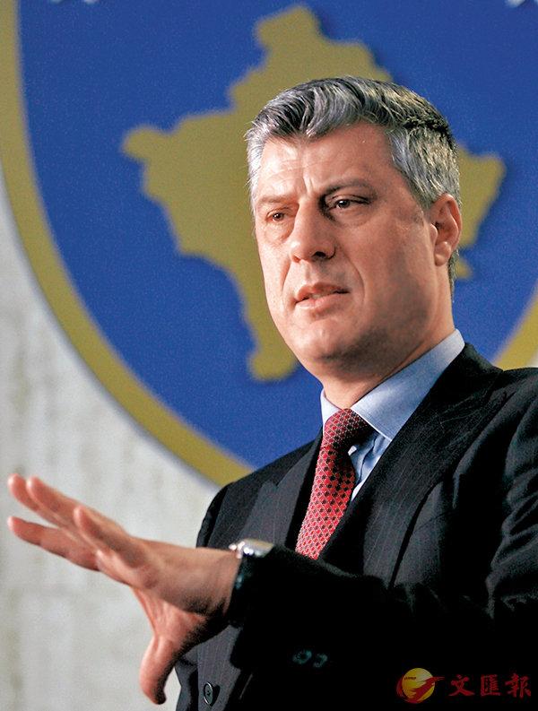 ■科索沃「總統」薩奇。 資料圖片