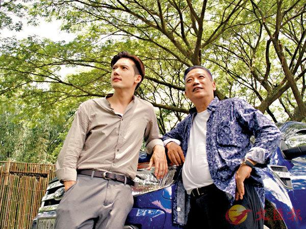 ■華哥在《戰毒》中也客串一角,與關智斌演對手。 作者供圖