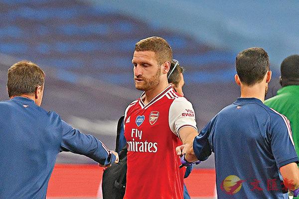 ■梅斯達菲於足總盃4強傷出。  法新社
