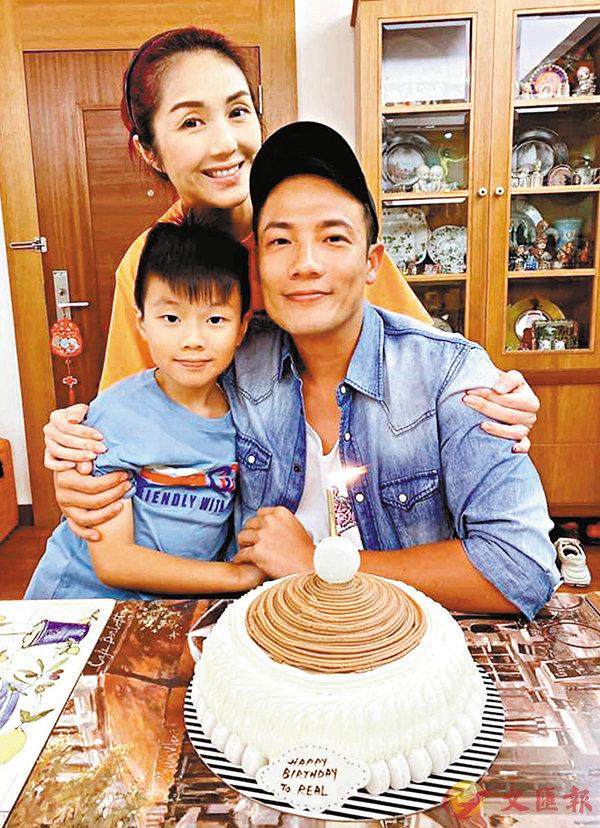 ■楊千嬅一家幸福慶生日。 網上圖片