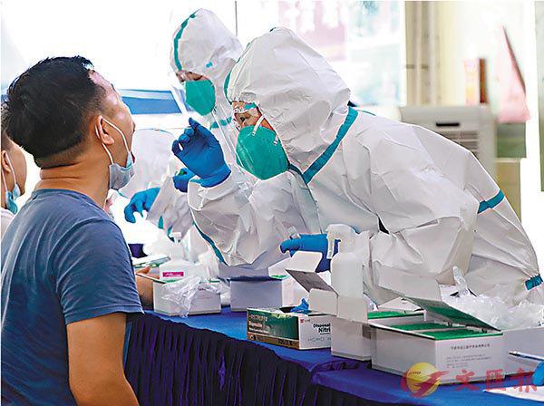 ■內地臨床檢疫技術人員實戰經驗豐富。 香港文匯報深圳傳真