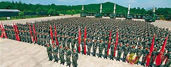 ■ 宣傳片涵蓋火箭軍等各個軍兵的演習場景。 視頻截圖