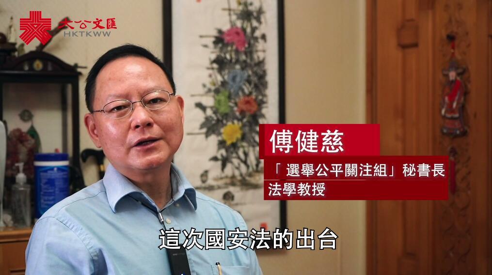 港書畫家談香港國安法¡G中國歷史應成為必修科目