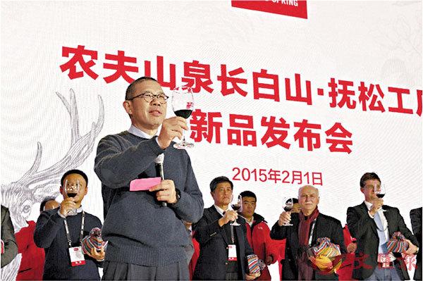■ 農夫山泉上市後,鍾睒睒身家可高達1,300億元,將成為中國第三大富翁。資料圖片