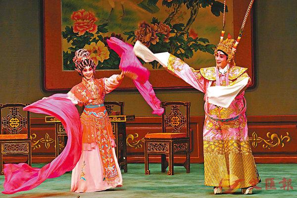 ■王志良和林穎施演出合作無間。