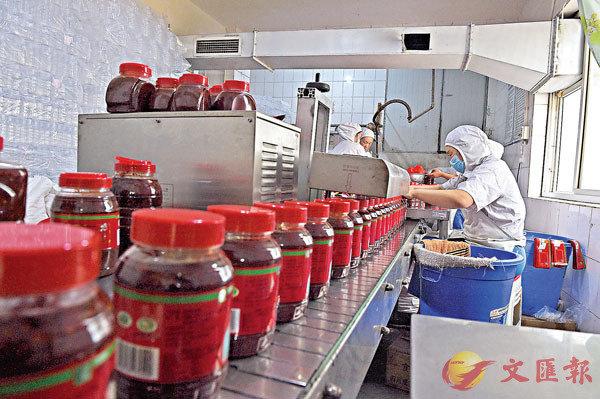 ■ 郫縣豆瓣是其中一種受歐盟市場保護的中國地方特產。 資料圖片