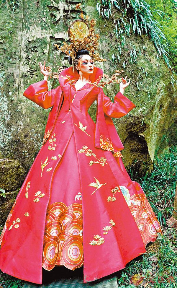■毛戈平的彩妝作品展現東方美學。