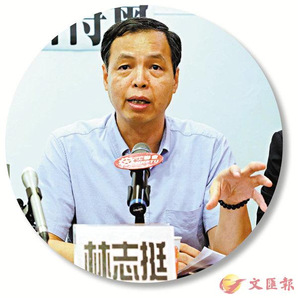 ■香港旅遊聯業工會聯會秘書長林志挺。資料圖片
